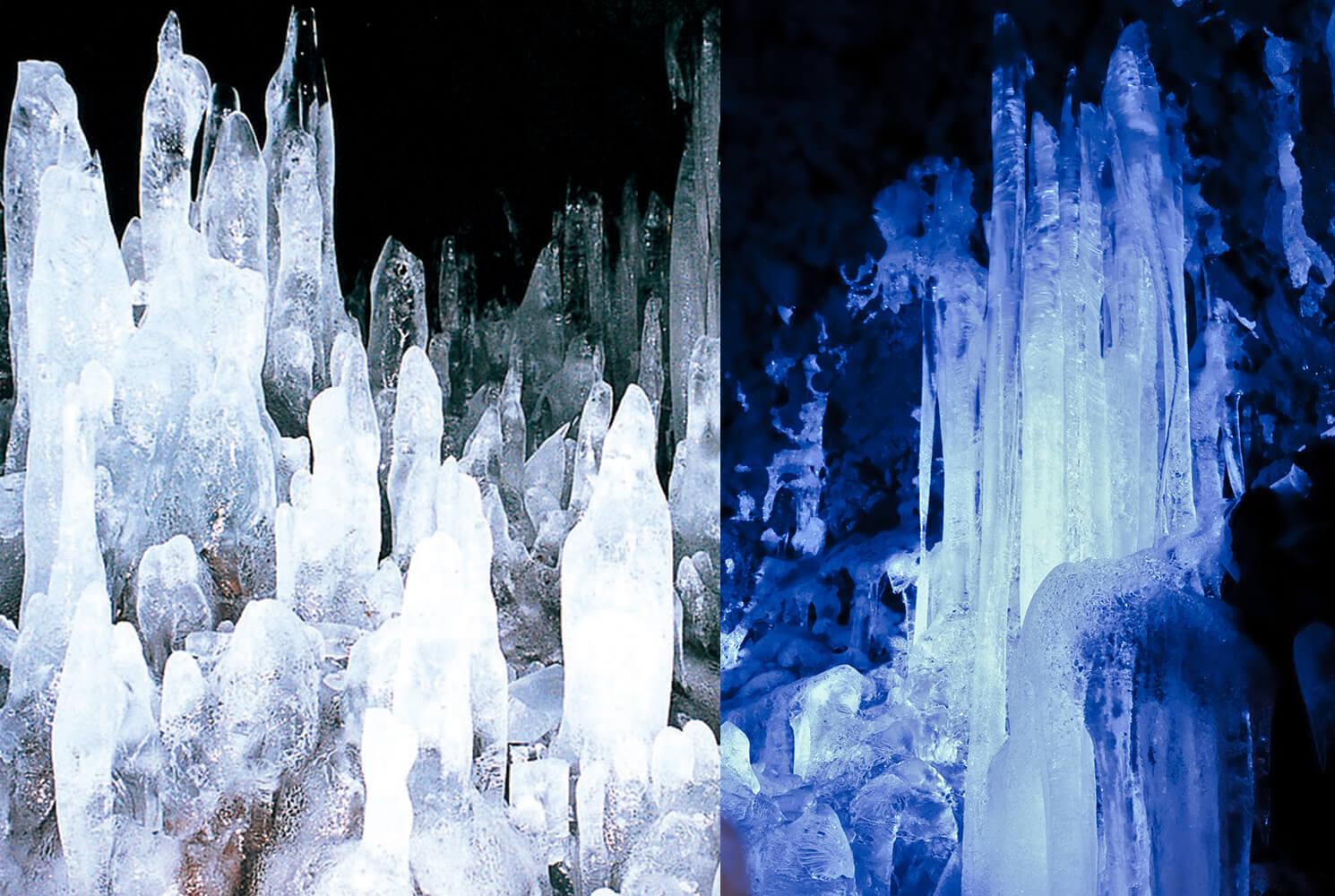 テラスダイニング シェフズレシピの周辺観光 鳴沢氷穴